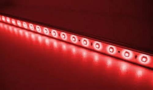 Fita Led 30 Cm 18 Leds Vermelha Moto Luz Freio Baú Bauleto