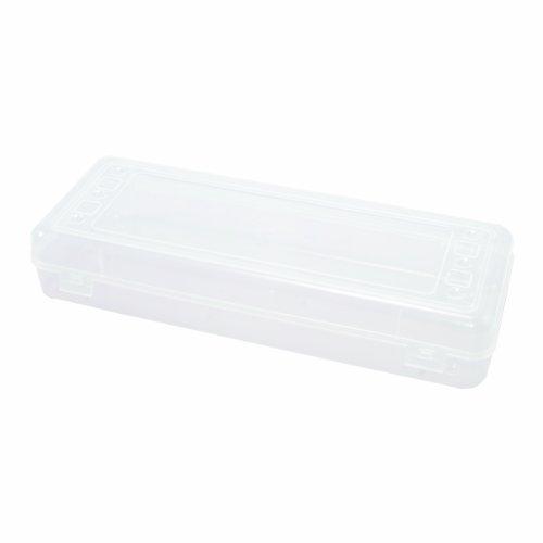 ADVANTUS Stretch Art Box Storage Case, Single, Clear