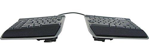 Kinesis Freestyle2 Ergonomic Keyboard w/ VIP3 Lifters for Mac (9' Separation) (Renewed)