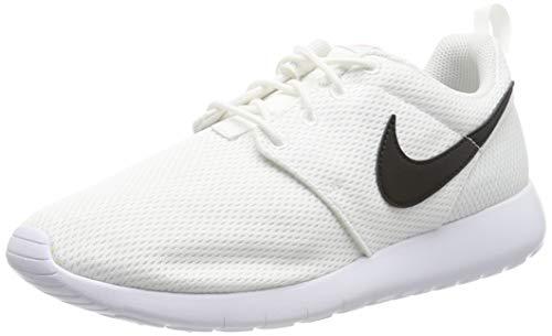 Nike Roshe One (GS) Big Kid's Shoes White/Black/Safety Orange 599728-101 (6 M US)