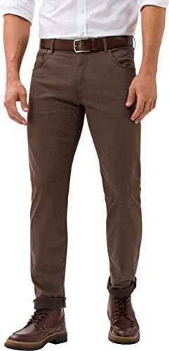 BRAX Herren Style Chuck Hi-Flex Five-Pocket Slim Fit Hose, NUT, 34W / 34L