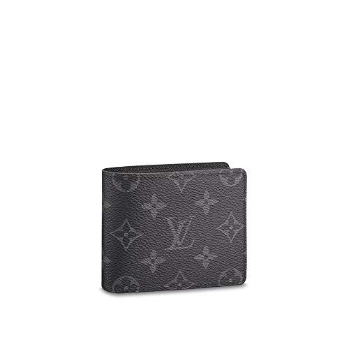 Louis Vuitton Slender Mens Wallet Monogram Eclipse Canvas M62294