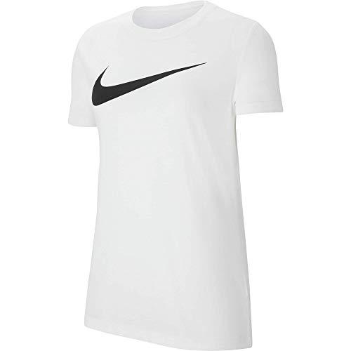 Nike Park 20, Maglietta Donna, Bianco Nero, M