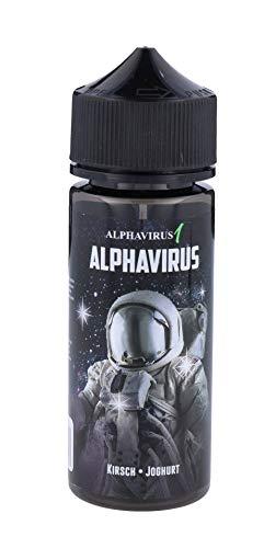 Ultrabio® Alphavirus Kirsch und Joghurt 10ml Aroma in 120ml Leerflasche Bottle in Bottle