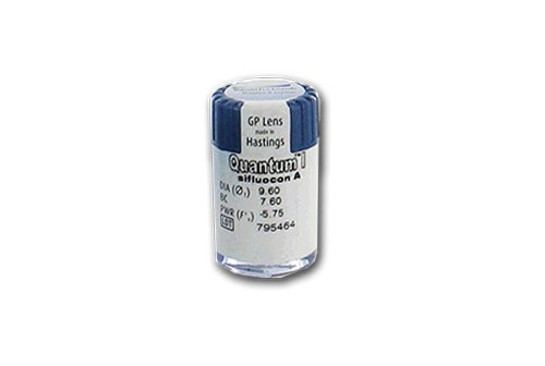 Quantum 1 Jahreslinsen hart, 1 Stück / BC 8.00 mm / DIA 09.60 mm / -05.00 Dioptrien