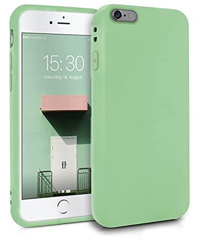 MyGadget Cover per Apple iPhone 6 Plus / 6s Plus - Custodia Protettiva in Silicone Morbido – Case TPU Flessibile - Protezione Antiurto - Verde Chiaro