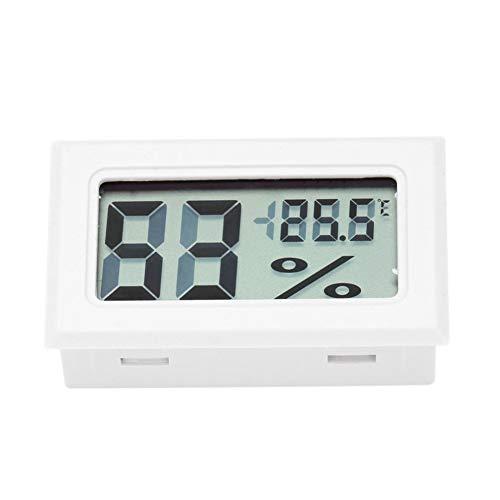 Balai Mini Digital Elektronische Temperatur Luftfeuchtigkeit Meter Innenthermometer Hygrometer LCD-Display für Luftbefeuchter Hause Luftbefeuchter Auto Gewächshaus Babyroom