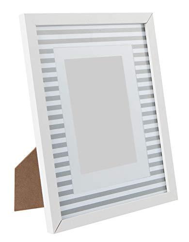 KASA Marco de Fotos Blanco de 10x15 Centímetros