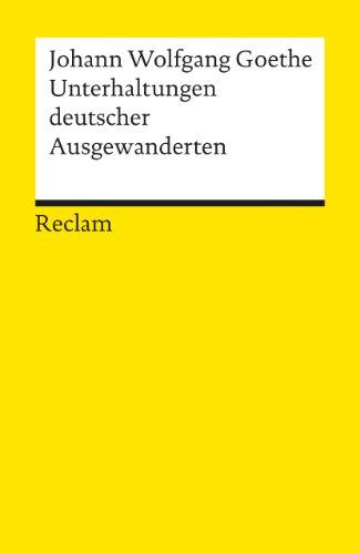 unterhaltung deutscher ausgewanderten