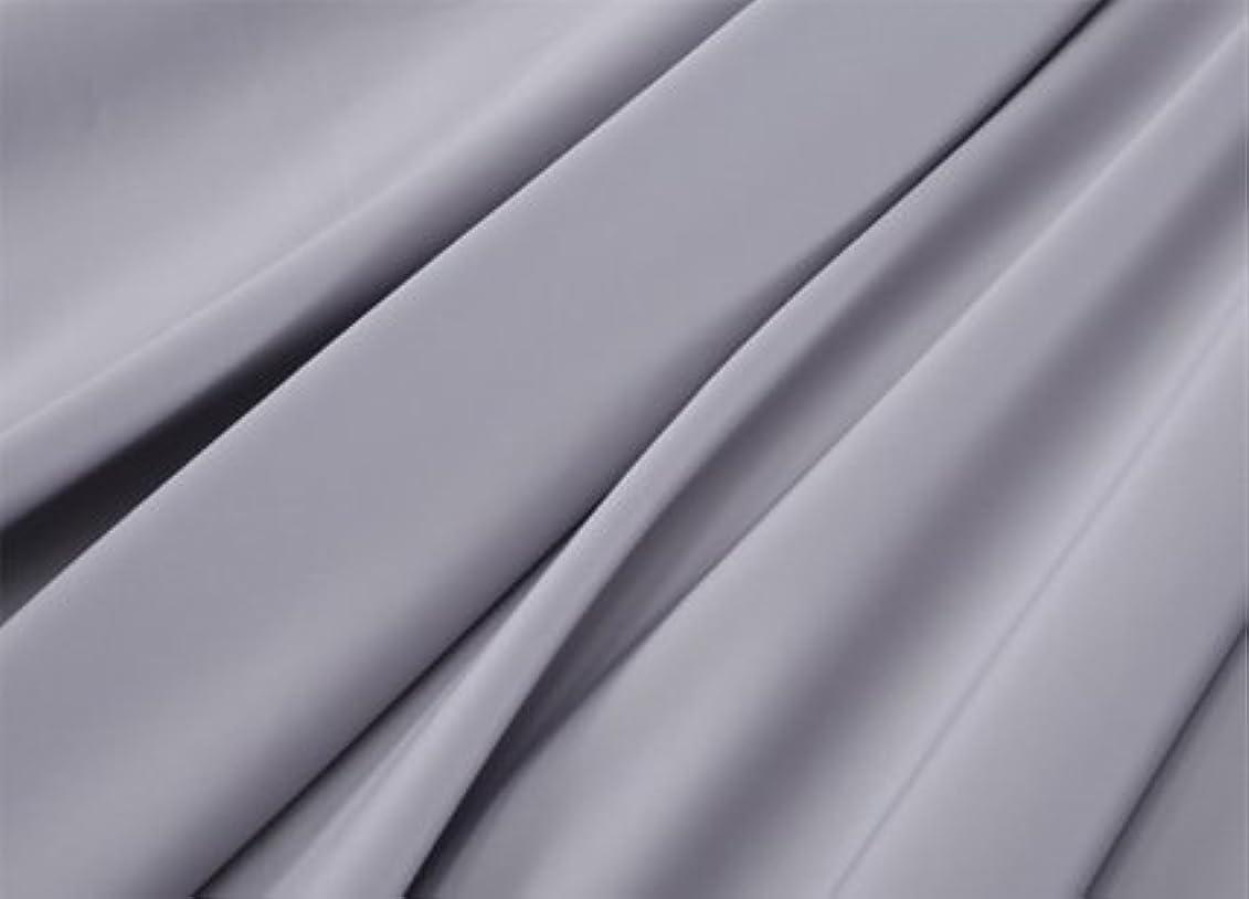 寓話スカートキャプテンブライR.T. Home - エジプト高級超長綿ホテル品質 ボックスシーツ シングル サイズ(シングル ボックスシーツ) 500スレッドカウント サテン織り シルバー グレー(ボックス シーツ シングル 100*200*37CM)