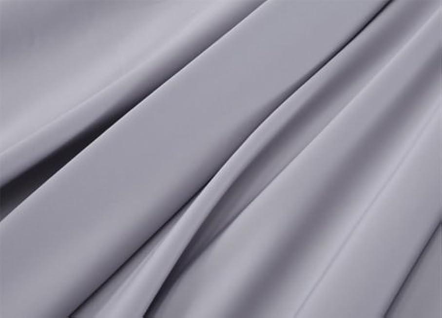 サーカス文芸トラフR.T. Home - エジプト高級超長綿ホテル品質ボックスシーツ(ボックス シーツ) クイーン サイズ(ワイドクイーン,ワイド クイーン) 500スレッドカウント サテン織り シルバー グレー(170*200*37CM)