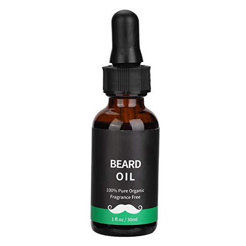 Leave-in Conditioner, natürliche Flüssigkeit Männer Bart Schnurrbart Wachstumspflege Öl Balsam 30ML