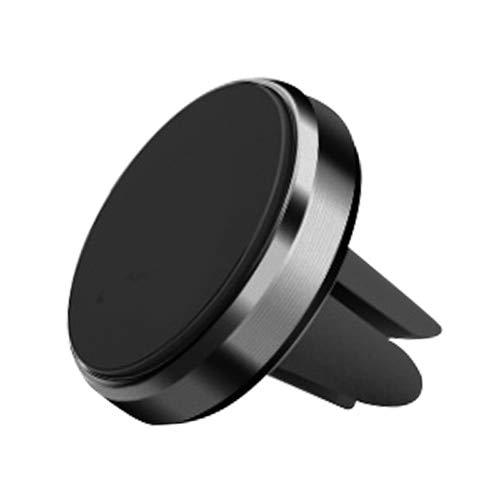 Gamssdlls Czzj - Soporte magnético para tableta para coche, soporte para teléfono móvil, redondo, universal, portátil, salida de aire para coche, GPS, aleación de aluminio (color : astillas)