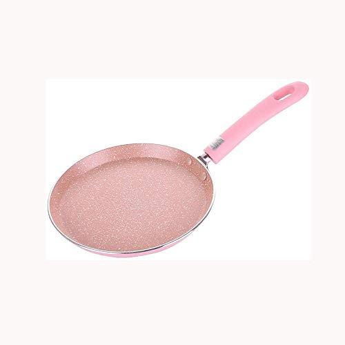 XJJZS. Antihaft-Bratpfanne Cauldron Cooker Wok Pan Brot Pizza Egg Pan Gasherd Pfannkuchenpfanne for Heim