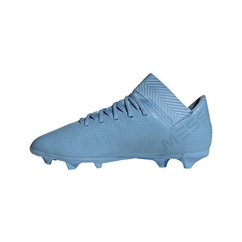 adidas Nemeziz Messi 18.3 FG J, Botas de fútbol Unisex Adulto, Azul (Azucen/Azucen/Grinat 0), 37 1/3 EU