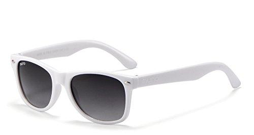 Miuno Miuno® Kinder Sonnenbrille für Jungen und Mädchen Etui 2688 (Weiß)