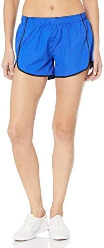 Hanes Sport Women s Performance Run Short Awesome Blue Ebony XX Large product image