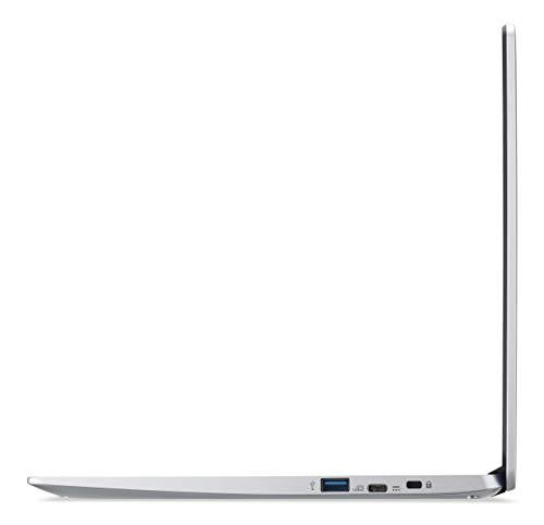 Acer Chromebook 314 (14 Zoll Full-HD matt, 19,7mm flach, extrem lange Akkulaufzeit, schnelles WLAN, MicroSD Slot, Google Chrome OS) Silber (DE Tastatur: QWERTZ) - 3