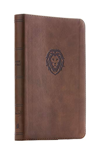 NKJV, Thinline Bible Youth Edition, Leathersoft, Brown, Red Letter, Comfort Print: Holy Bible, New King James Version