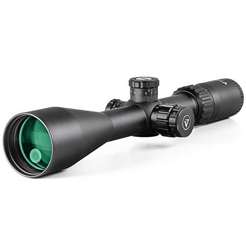 VALIANT Zielfernrohr 4-16x50 Lynx MIL-DOT Inkl. Montage 11mm Schienen Seitenparallaxe Rot Beleuchtet Für Luftgewehr und Jagdgewehr