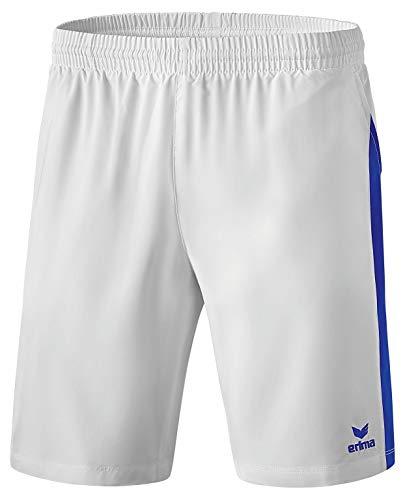 Erima Masters Short Homme, Blanc/Mazarine Blue, FR (Taille Fabricant : XL)
