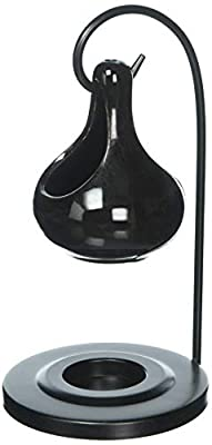 Furniture Creations Koehler Home Decor Accent Black Tear Drop Oil Warmer