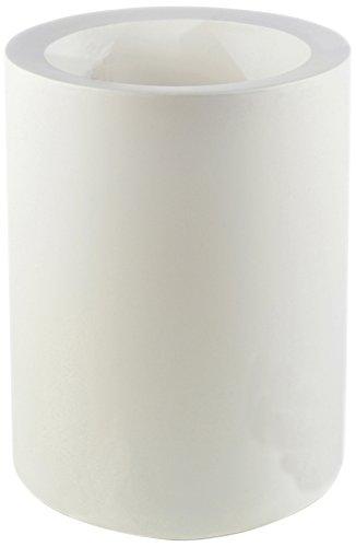 Vondom 40440 - Cilindro alto con diámetro de 40 x 60 cm, simple, color blanco
