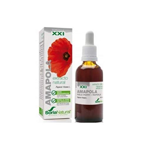 Extracto de Amapola 50 ml de Soria Natural