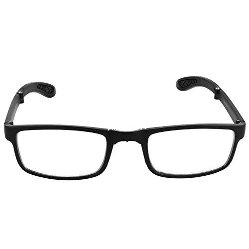 MILISTEN Gafas de Lectura Plegables Lectores Plegables con Estuches Gafas de Lectura Plegables para Estudiantes Hombres Y Mujeres Leer Juegos de Ordenador Protector de Ojos 400