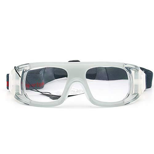 GreceMonday Basketball Brille Fußball Sport Brille Badminton Explosionsgeschützte Rahmen kann mit Myopie Außen ausgerüstet Werden