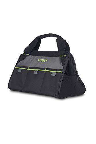 AWP 13-in Zippered Tool Bag, black