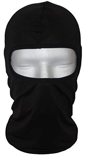 NWD schwarze Sturmhaube - Perfekt für den Winter als Skimaske - Motorradmaske für den Sommer - auch für das Fahrrad