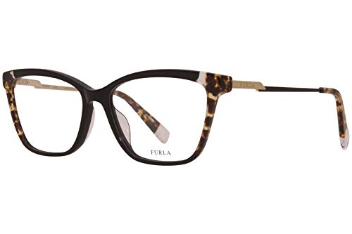 Furla Brille für Vista VFU293 700Y schwarz rahmenmaterial: kunststoff größe 55 mm brille für damen