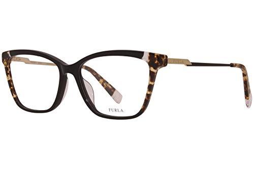 FURLA Occhiale da Vista VFU293 700Y nero montatura plastica taglia 55 mm occhiale donna