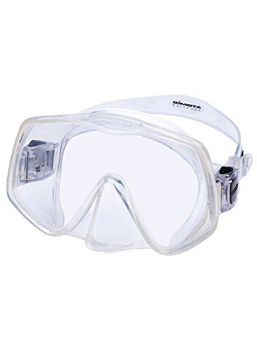 Atomic Aquatics Frameless 2 Mask - Black/Clear