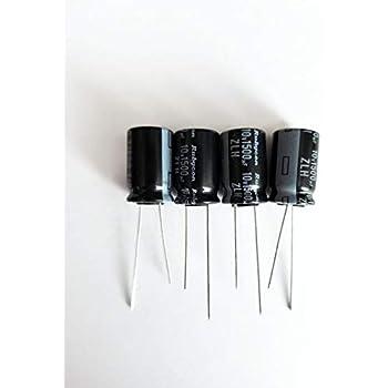 6355 Aluminum Solid Capacitors 20pcs Nichicon LF 560uF//6.3V 8*9mm