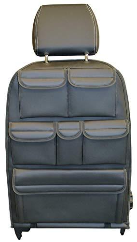 INKA Multibox - Organizador de almacenamiento para asientos con bolsillo organizador de herramientas, color negro para VolksWagen Transporter T6 T5 Kombi Shuttle California y Caravelle
