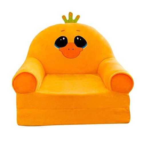LIUYONGJUN Sillones Infantiles, Hogar Multifunción De Dibujos Animados Mini Bebé Mini Sillón Color Amarillo (Color : A)