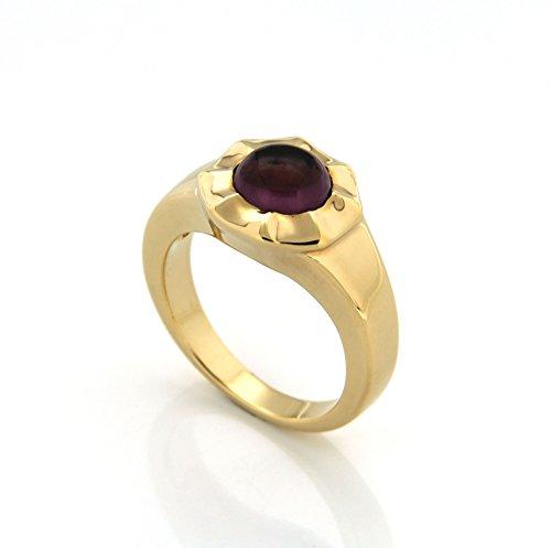 Bijoux pour tous anillos Mujer chapado en oro circón redondo