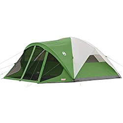 8 Person Single Room Tent With Screened Room