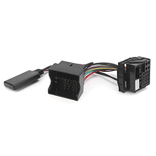 Cable de audio AUX, micrófono, adaptador de manos libres, Bluetooth 5.0, kit de coche compatible con A2 A3 A4 TT 2006