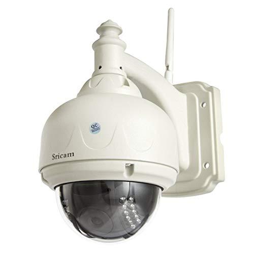 Telecamera rotante a 360 gradi Telecamera esterna HD 720P Telecamera dome wireless IP IP Telecamera di sorveglianza CCTV Visione notturna