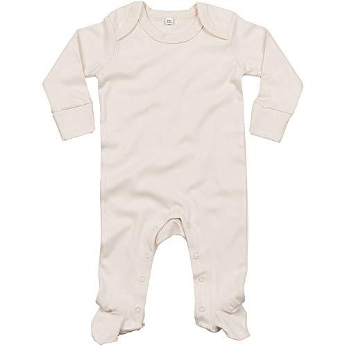 Babybugz - Pijama con cuello en forma de sobre de algodón orgánico para bebé