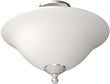 Thomas Lighting SL869678 Riva 3-Light Ceiling Lamp in Brushed Nickel, 16W X 16D X 11.5 H