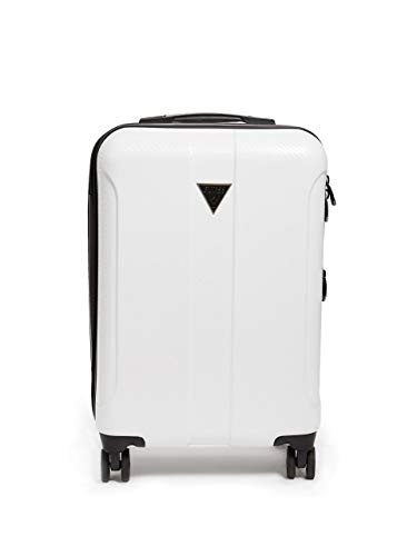 Why Choose Guess Lustre 2 Collection 20 8-Wheeled Spinner, White, One Size