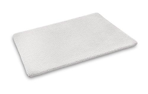 JOOP! ORIGINAL BASIC Designer Badteppich | Badematte weiß - 50 x 60 cm