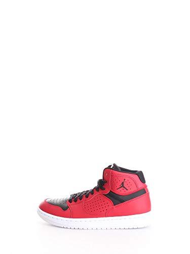 Nike Jordan Access, Zapatilla de Correr Hombre, Gym Red Black White, 43 EU