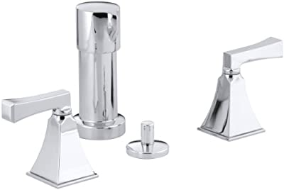 Memoirs Bidet Faucet with Stately Design and Deco Lever Handles