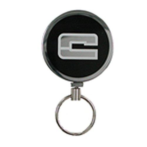 Gastro Schlüsselrolle mit Metallkordel, 100366 096, Schlüsselhalter, Metall silber