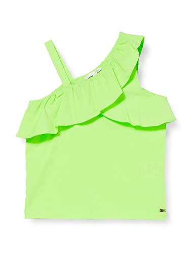Mexx Mädchen Mexx-954106 Bluse, Weiß (Bright White 110601), (Herstellergröße:...